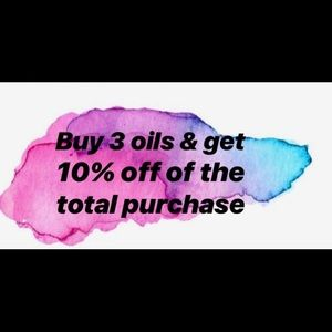 Bundle Three Oils and get 10% off